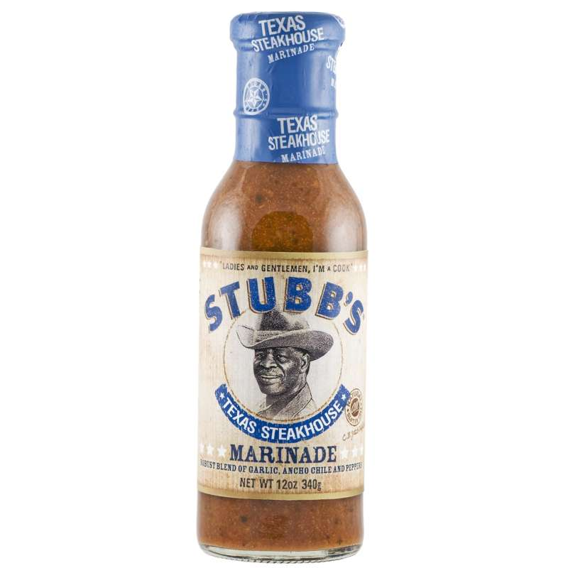 Rumo Barbeque Stubbs Texas Steakhouse Marinade 330 ml ST-218