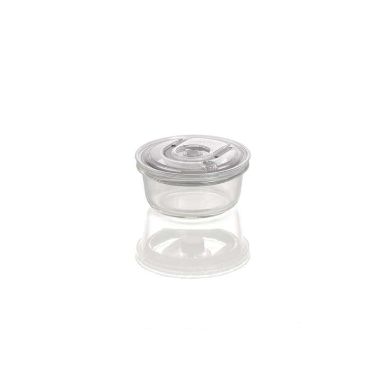 Caso VacuBoxx RS rund 370 ml Glas Design Vakuumbehälter mikrowellengeeignet spülmaschinenfest