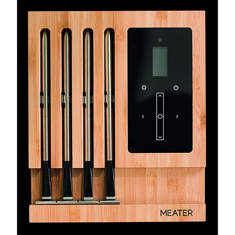 Meater Block Wireless Bluetooth SmartMeat Grillthermometer Funkthemometer mit Display 50m Reichweite
