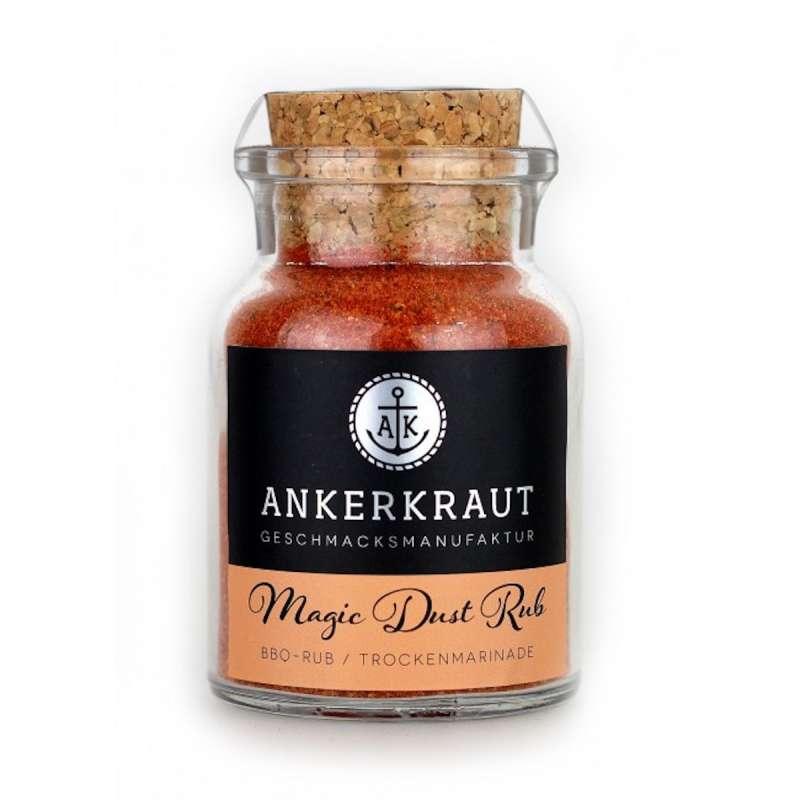 Ankerkraut Marinade/ BBQ-Rub Magic Dust Gewürzmischung im Korkenglas 100 g