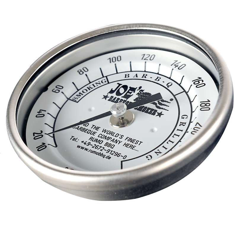 Rumo Barbeque JOEs Original 3 Edelstahl Thermometer 10 - 260°C