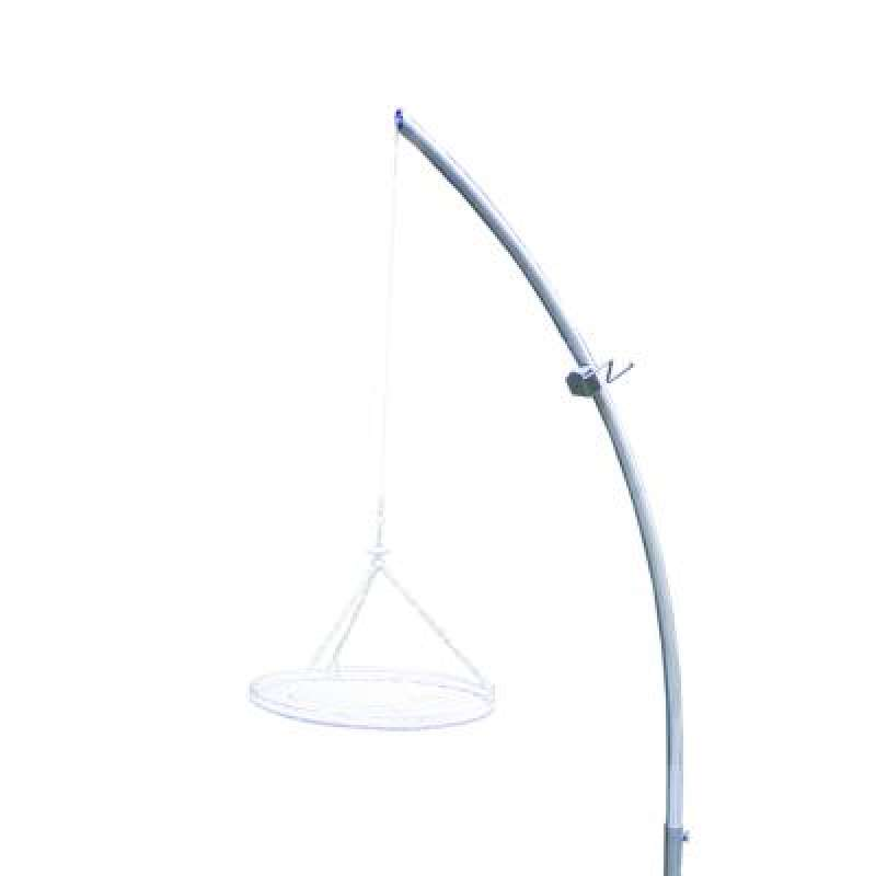 Schneider Grillgalgen aus Edelstahlrohr ∅ 42 mm Höhe 230 cm Schwenkgrill