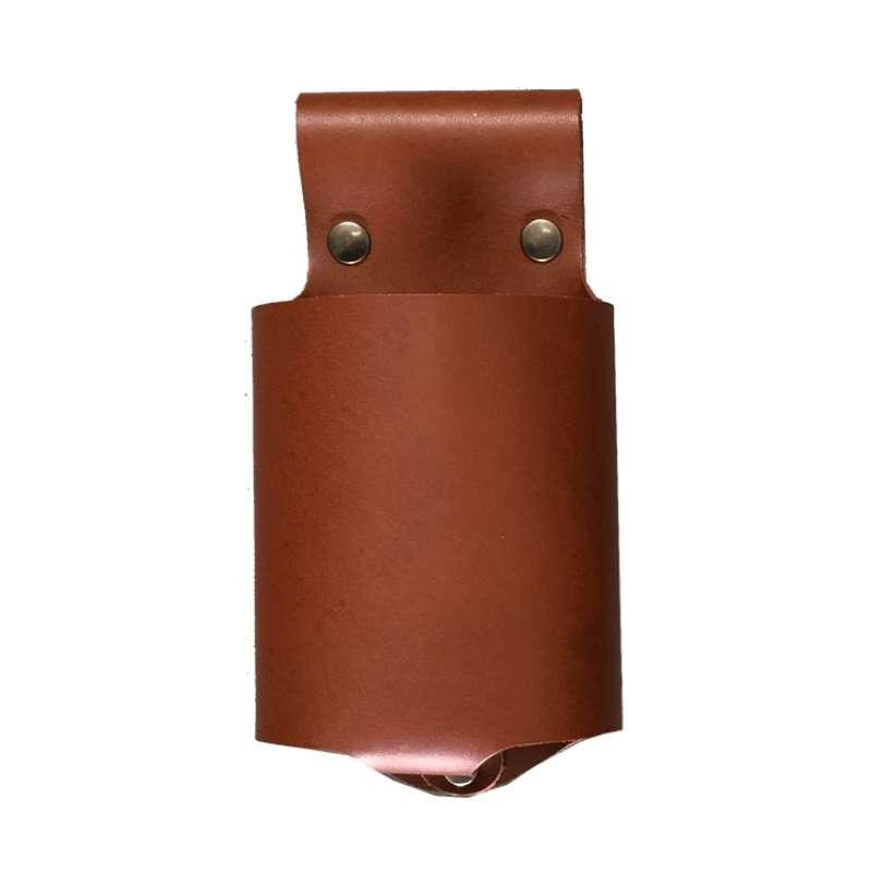 Monolith Flaschen-Holster Flaschenhalter aus robustem Büffelleder A-001-BOTTLE