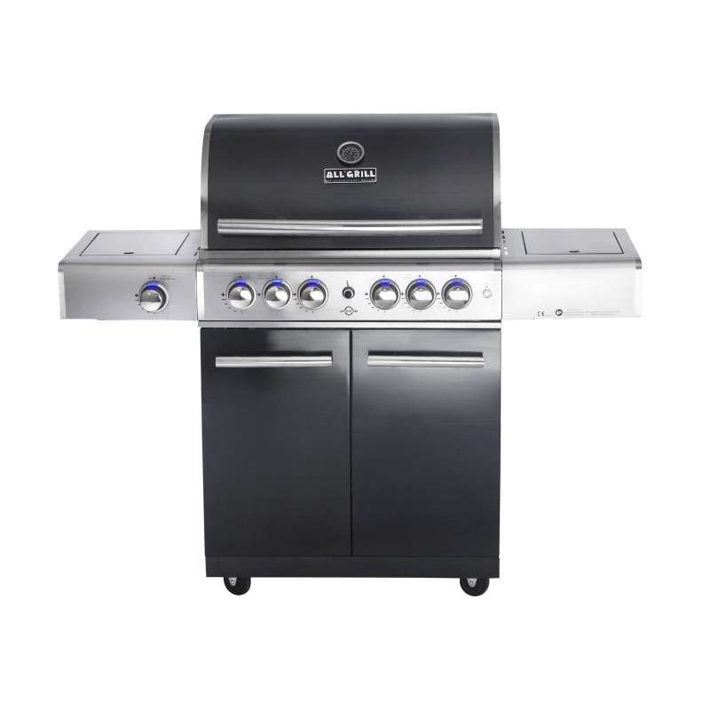 Allgrill Top-Line Chef L Black-Line Volledelstahl Gasgrill mit Air System