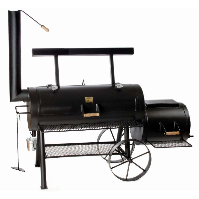 Rumo Barbeque JOEs Smoker Championship Longhorn 20 Zoll Holzkohlegrill JS-33955