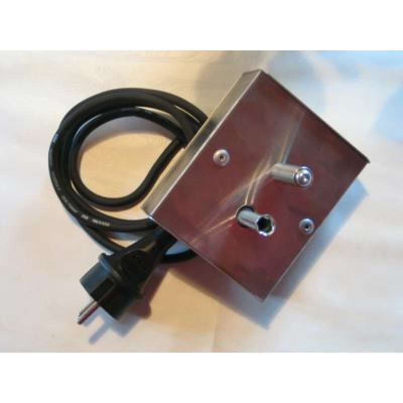 Schneider Grillmotor für Grillgut bis 10kg 230 Volt mit Gehäuse aus Edelstahl