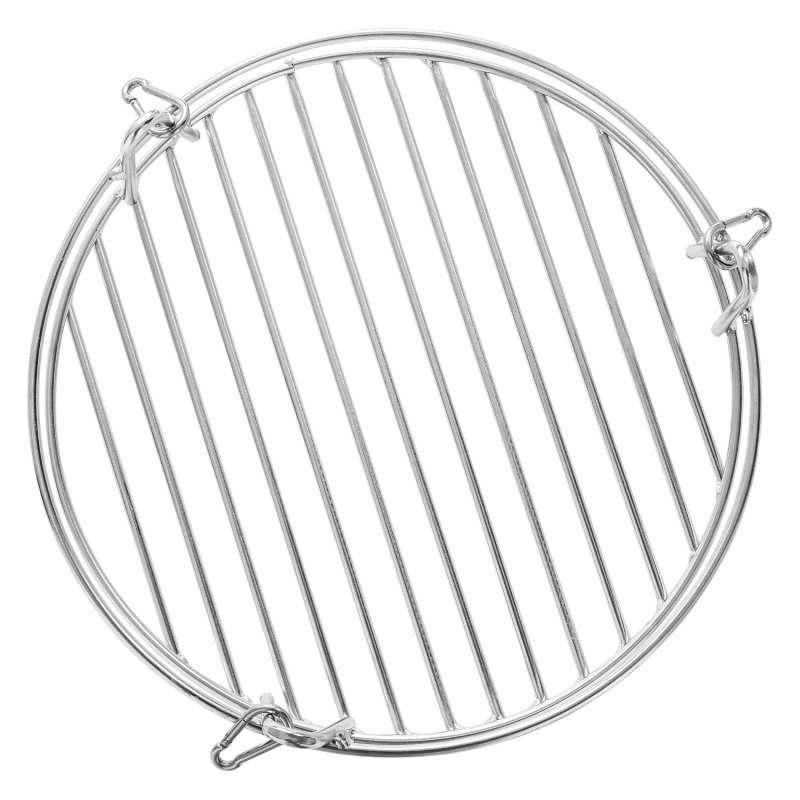 Schneider Warmhalterost Edelstahl Ø 30 cm für Grillrost 50-60 cm Grillzubehör