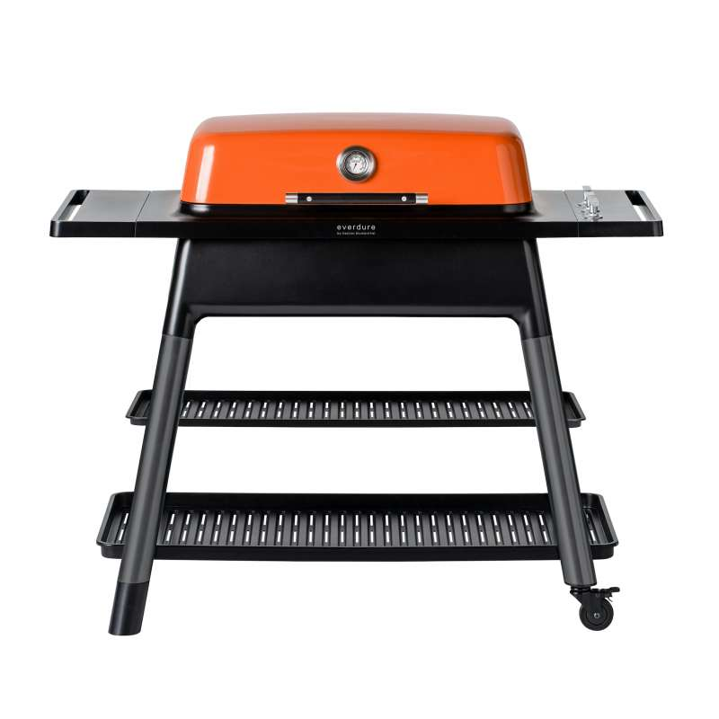 Everdure Gasgrill Furnace 3-Brenner Grill Farbe Orange HBG3ODE