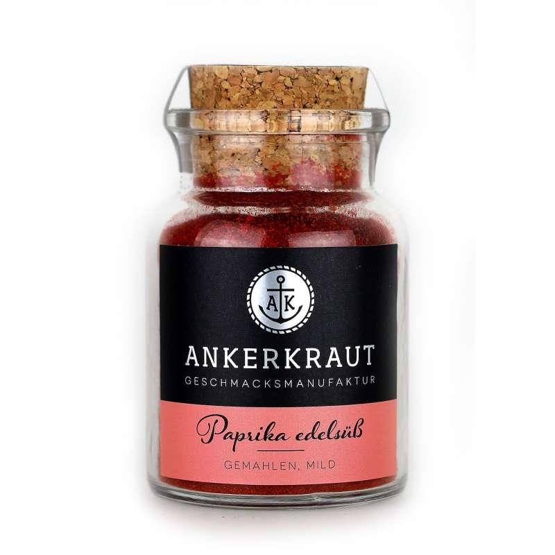 Ankerkraut Paprika edelsüss Paprikaschoten edelsüß im Korkenglas 70 g