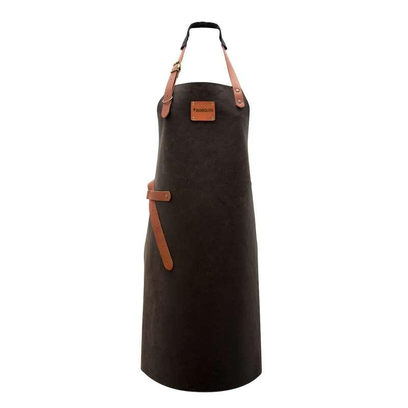 Monolith Leder Grillschürze Gr. XL aus echtem Büffelleder handgemacht und hitzebeständig A-001-XL
